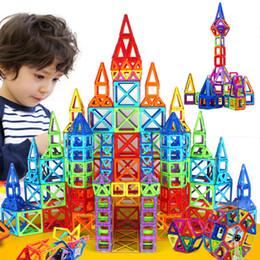 Magnetic Blocks Educational Australia - 184pcs-110pcs Mini Designer Construction Set Model & Building Toy Plastic Magnetic Blocks Educational Toys For Kids Gif Q190521