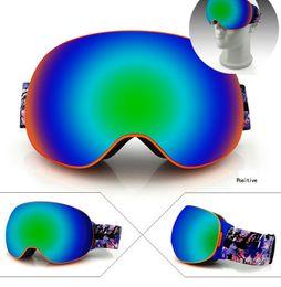 $enCountryForm.capitalKeyWord Australia - Hot Sale 3Styles New Brand Ski Goggles Double UV400 Anti-Fog Big Ski Mask Glasses Skiing Men Women Snow Snowboard Goggles