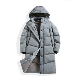veste feuilletée hommes achat en gros de-news_sitemap_homeTOPStely Konng Gonng Winter New Mens Long Brefbreaker Down Jacket Fashion Marque Haute Qualité Jacket Chauffé Veste Puff Chauffé