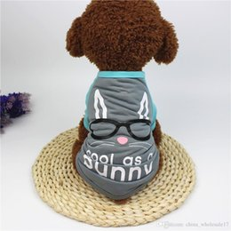 Small Dog T Shirts Australia - Spring Summer Dog Shirt Puppy Vest Dog T-shirt Easter Bunny Egg Funny Dog Costumes Pet Clothes Shirts For Small Dogs