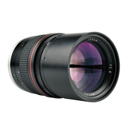 Wholesale 135mm F2.8 Telephoto Prime Lens for Canon EOS 6D 77D 760D 800D 60D 70D 80D 500D 550D 600D 650D DSLR Camera Lens