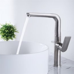 $enCountryForm.capitalKeyWord Australia - Bathroom and kitchen rotation basin faucet 304 stainless steel material kitchen sink faucet high quality mixer tap