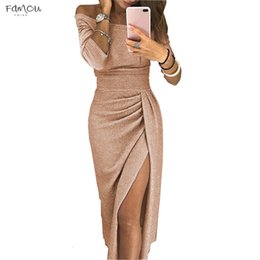 Model long dress casual online shopping - Women Pencil Party Dress Slash Neck For Womens Plus Designer Woman Casual White Clothing Ladies Sale Dresses Models Clothes
