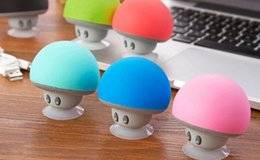portable waterproof stereo wireless bluetooth speaker UK - colorful Wireless Mini Bluetooth Speaker Portable Mushroom Waterproof Stereo Bluetooth Speaker for Mobile Phone iPhone Xiaomi Computer