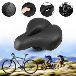 Vente en gros Éponge douce vélo vélo Selle silicone Coussin selle pour vélo VTT Vélo Route Selles Seat Accessoires LJJZ633