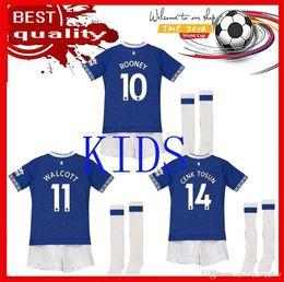 9f4c78c0c 18 19 everton kids kit and men soccer jersey DIGNE André Gomes mina Walcott  CENK TOSUN SIGURDSSON KLAASSEN Richarlison third football shirts