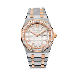 Diamond Rounds UK - Limited women diamond watches Classical Model Antique Wristwatches High Quality Gold Silver Stainless Steel Quartz Lady Watches With Diamo