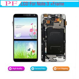 replacement screen lcd 2019 - LCD Display For Samsung Galaxy Note 3 N900 N9000 N9005 N900A LCD Touch Screen Digitizer Assembly Replacement Brightness