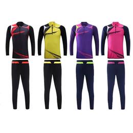 2f19617f1a8 Long-sleeved Football Clothes Suit Manufacturers Custom Light Board Men And  Women Team Training Football XXXL jooyoo