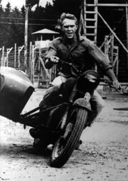Sticker Designs For Motorcycle Australia - THE GREAT ESCAPE MOVIE Steve McQueen Motorcycle Art Silk Poster 24x36inch 24x43inch 0587