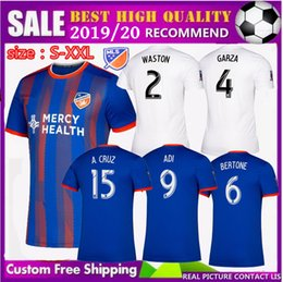 b86c3d109 free Ship new 2019 2020 MLS FC Cincinnati home Soccer Jerseys Away 19 20  GARZA WASTON BERTONE ADI Football jersey Cincinnati Soccer Shirts