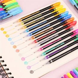 $enCountryForm.capitalKeyWord Australia - 48 Colors Gel Pens Set, Glitter Gel Pen for Adult Coloring Books Journals Drawing Doodling Art Markers