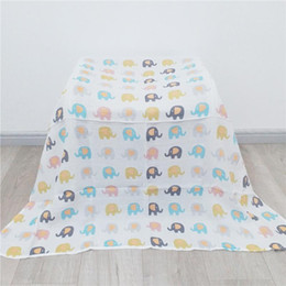 $enCountryForm.capitalKeyWord Australia - Cotton Baby Blankets Newborn Soft Organic Cotton Baby Blanket Swaddle Wrap Feeding Burp Cloth Towel Scarf Stuff