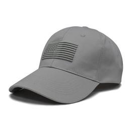 $enCountryForm.capitalKeyWord UK - American Flag Embroidered Cotton Hat Breathable Anti-UV Baseball Cap With Adjustable Back Closure Headwear Outdoor Sports Wear