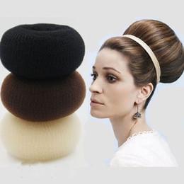 Foam Bun Accessory Australia - Hair Bun Maker Donut Magic Foam Sponge Easy Big Ring Hair Styling Tools Products Hairstyle Accessories For Girls Women Lady