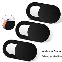 Webcams for online shopping - New WebCam Cover Shutter Slider Plastic Universal Camera Cover For Web Laptop iPad iphone PC MacBook Tablet Privacy Sticker phone with boxs