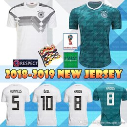 b21105910 Germany world cup jersey online shopping - 2018 World Cup Germany Home Soccer  Jersey OZIL KROOS