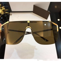 $enCountryForm.capitalKeyWord Australia - GG0291S sunglasses brand designer sunglasses for men women Cool frame metal engraving high quality popular glasses new arrive.