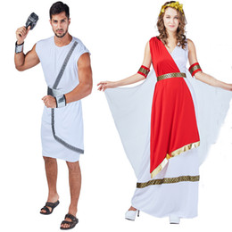 Wholesale greek movie for sale – custom Festival Party Cosplay Clothes Halloween Theme Costume Ancient Greek Roman Clothing Set Adult Heroic Royal Swordsman Costume