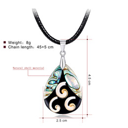 Special Pendants Australia - 40+5cm Pearl Abalone Shell Necklace In Stock Factory Direct Unique Special Ladies Clavicle Stitching Color Pendants Wholesale Necklaces