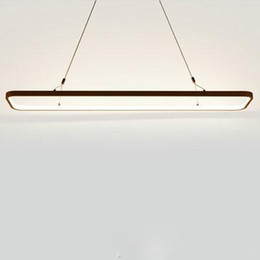 $enCountryForm.capitalKeyWord Australia - New Creative modern LED lights Kitchen acrylic+metal suspension hanging ceiling lamp for dinning room lamparas colgantes