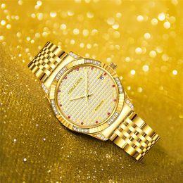$enCountryForm.capitalKeyWord Australia - PRINCE GERA Luxury 18K Gold Diamonds Automatic Watch For Men Sapphire Glass Shining Diamonds Case Self-winding Mechanical Watch