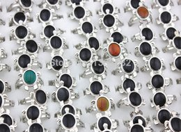 $enCountryForm.capitalKeyWord Australia - Wholesale Lot 20pcs Magic Turtle Feeling Mood Rings Color Changing Emotion Temperature Changeable Adjust Finger Ring Band Mr66 J190715