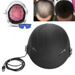 Новейшие горячие продажи Портативный Выпадение Волос Продукты домашнего использования лазерный рост волос с 68 диодов для роста волос CE бесплатная доставка на Распродаже