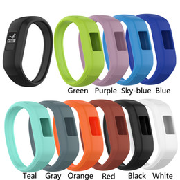 Smart Watches New Arrivals Australia - New Arrival 10 Colors Wrist Watch Band Soft Silicone Strap Replacement Watchband For Garmin Vivofit JR Smart Watches