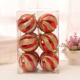 $enCountryForm.capitalKeyWord NZ - 12 Pcs Christmas Xmas Tree Ball Glitter Bauble Hanging Home Hanging Ball Ornament decorations for Home Christmas decorations