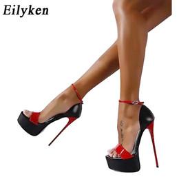 Vertriebspartner Sexy Strappy Großhandel Sandalen Online Rote N8wOm0vn