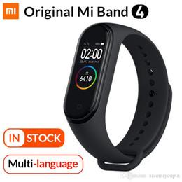Originale Mi Band 4 smart Bracciale Xiaomi fitness Inseguitore della vigilanza Heart Rate Monitor sonno 0,95 pollici display OLED Band4 Bluetooth in Offerta