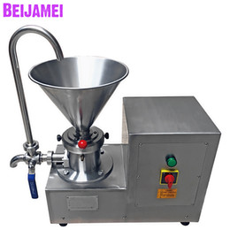 Sauce machineS online shopping - BEIJAMEI Factory Small Commercial Colloid Mill Peanut Butter Making Machine Electric Chili Sauce Butter Grinding Machine