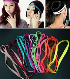 fantastic hair 2019 - Fantastic 10 Colors Double Sports Elastic Headband Yoga Anti-Slip Hairband Head Hair Bands Accessories cheap fantastic h