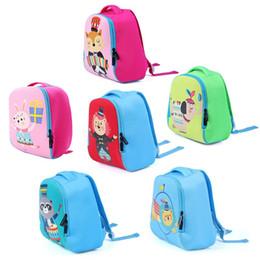Wholesale School Backpacks For Kids Australia - 1Pc Kids Toddler Child Cute  Backpack Waterproof 3D Cartoon 67b2ce3919edd