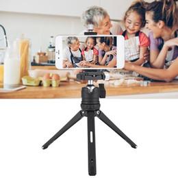 Dslr Slr Camera Australia - Desktop Mini Tripod Aluminum for Phone DSLR SLR Camera with Gradienter Hot Sell