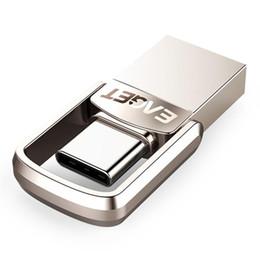 128mb Flash Drive Australia - (new generat)EAGET Type C USB Flash Drive 16GB USB Drive 32GB 64GB 128GB Pendrive USB Stick Disk for Huawei for Phone Laptops