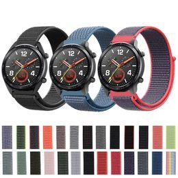 $enCountryForm.capitalKeyWord Australia - Sport Nylon Loop Band for Huawei GT Watch Strap Band Watch 2 Pro Wristband Honor Magic Magnetic Woven Strap Bracelet