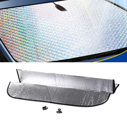 $enCountryForm.capitalKeyWord Australia - Car Styling 150*90CM Sunshade Front Rear Window Shade Window Sun Covers Visor Shield Screen Windscreen Block Folding UV Protect