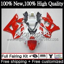 Honda Cbr929 Australia - Body For HONDA CBR900 RR CBR 929RR CBR 900RR CBR929RR 00 01 Red white ! 54PG17 CBR 929 RR CBR900RR CBR929 RR 2000 2001 Fairing Bodywork