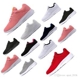 Black White Red Rose Australia - Tanjun Best London 3.0 Run Men Women Running Shoes Olympic Rose black red white grey blue Outdoor Walking Sneakers Shoes Drop Shipping
