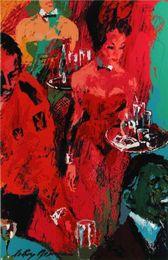 Figure Club Australia - LeRoy Neiman Playboy Club,Home Decor HD Printed Modern Art Painting on Canvas (Unframed Framed)