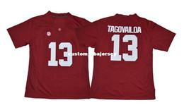 $enCountryForm.capitalKeyWord Canada - Cheap custom Tua Tagovailoa Jersey #13 Alabama Crimson Tide Football Jersey- Red Stitched Customize any number name MEN WOMEN YOUTH XS-5XL