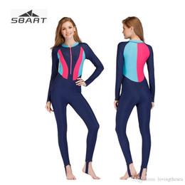 $enCountryForm.capitalKeyWord Australia - Sbart Swimwear Women Long Sleeve Swimsuit Rashguard Lycra Sunscreen Rash Guard for Female One Piece Swimming Clothes 2018