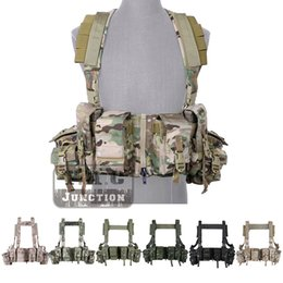 spring shooting Canada - LBT-1961A-R Chest Rig with Zipper & M4 Magazine Pouches For Shooting Hunting Tactical Body Armor Vest
