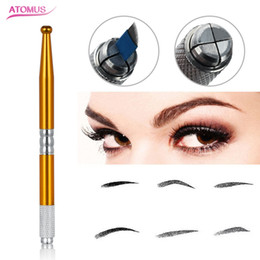 eyebrows microblading supplies Australia - Eye Brow Microblading Tool Eyebrow Tattoo Manual Pen Supply Tattoo Accessories Professional Tattoo Tool Manual Beauty Supply