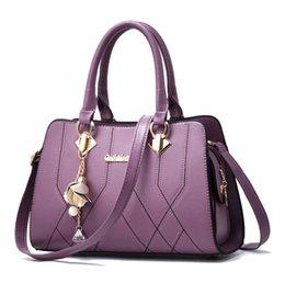 $enCountryForm.capitalKeyWord Australia - 2019 new pu Leather Brand Women Messenger Bags shopping Handbags Famous Shoulder Crossbody bags Lady Tote Handbags Briefcase Bags