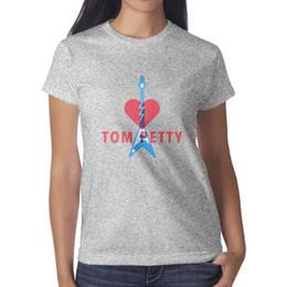 $enCountryForm.capitalKeyWord Australia - Tom pettY GUITAR grey womens t shirt,shirts,t shirts,tee shirts printing vintage make a band athletic t shirt