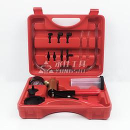Manual vacuum pump car brake oil replacement tool car detector car repair oil gun on Sale