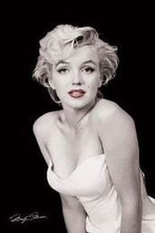 Marilyn Monroe Stickers For Walls Australia - MARILYN MONROE - RED LIPS Art Silk Poster 24x36inch 24x43inch 0587